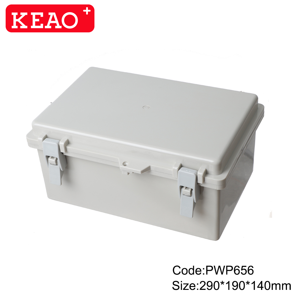 outdoor enclosure waterproof outdoor telecommunication enclosure junction boxes PWP656 290X190X140mm