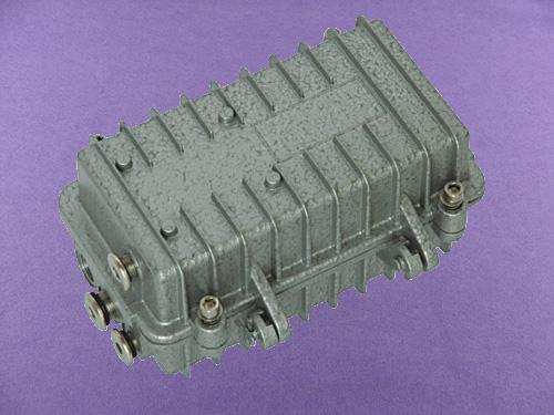 heavy duty aluminium top box ip67 aluminum waterproof enclosure die casting box AOA165 167X84X85mm