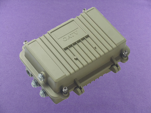 Sealed Aluminium Enclosures aluminum trolley cosmetic case aluminium amplifier AOA050 213x134x96mm