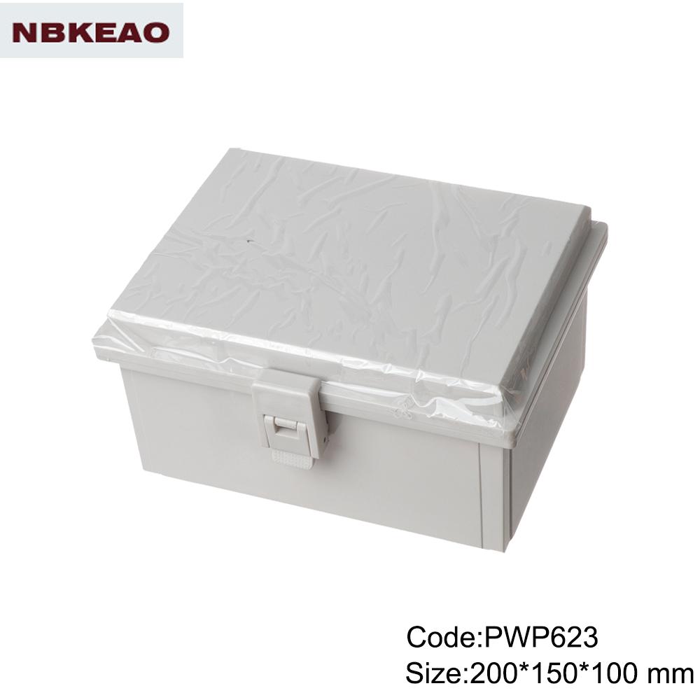 electronic plastic enclosures China cheap Plastic Box instrument enclosure PWP623 with 200*150*100mm