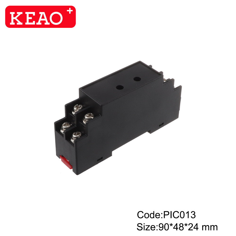 Air vents terminal block box can bus system module for packaging machines din rail mounting clip box