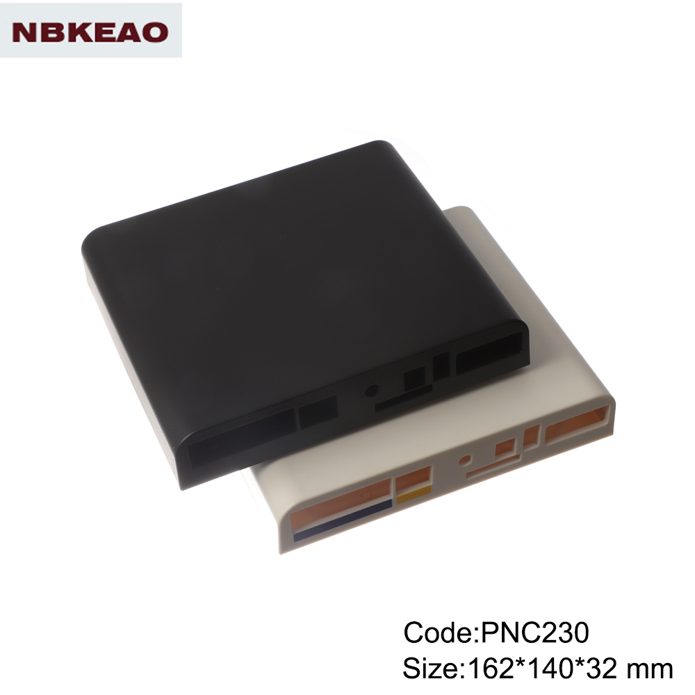 abs box plastic enclosure electronics Network Connect Box wifi router enclosure PNC230 162*140*32mm