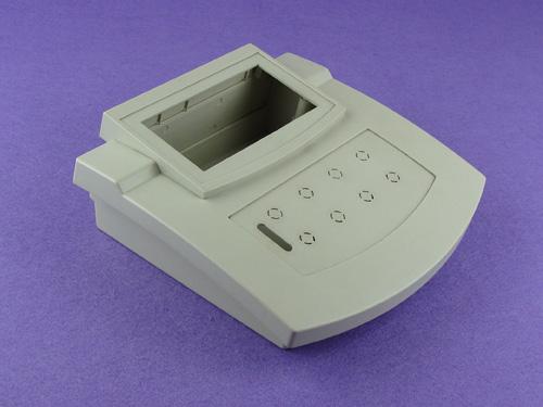 Custom ABS Plastic Electronic Enclosures Plastic Desktop box Desk Top Cabinet PDT260    204*210*75mm