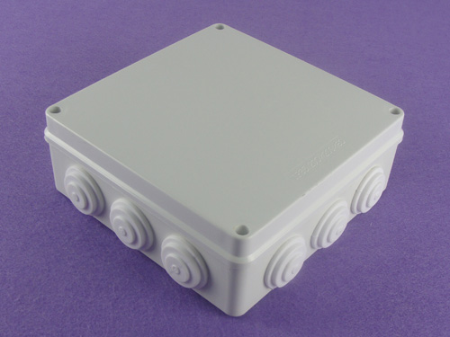 abs junction box enclosure ip65 plastic waterproof enclosure PWK150 with size 200X200X80mm