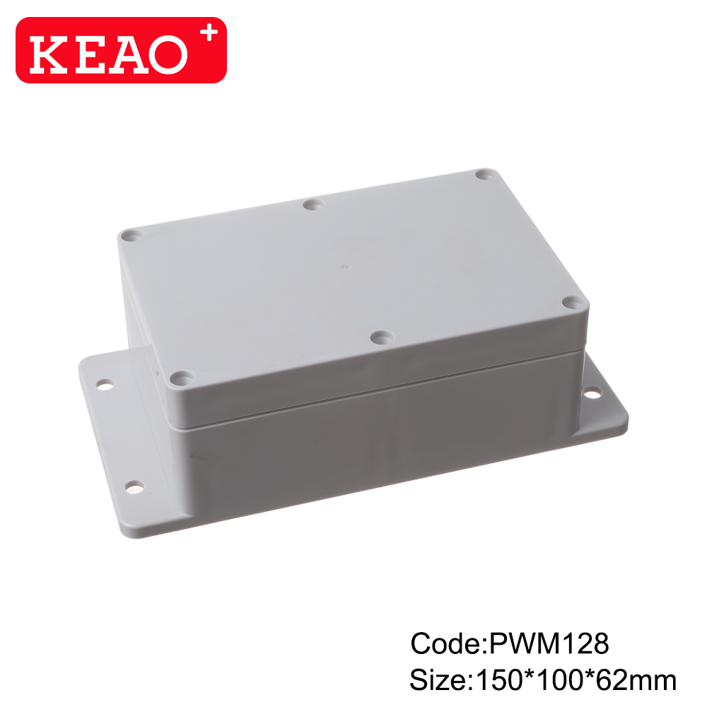 waterproof junction box wall mounting enclosure box plastic electronic enclosure PWM128 150*100*62mm