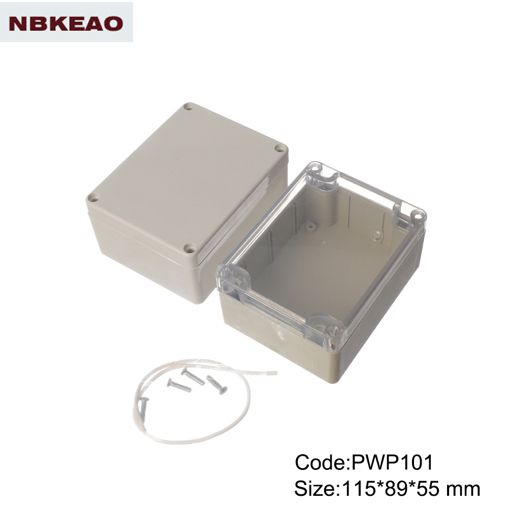 outdoor waterproof enclosure electronic enclosure outdoor enclosure PWP101 with size 115*89*55