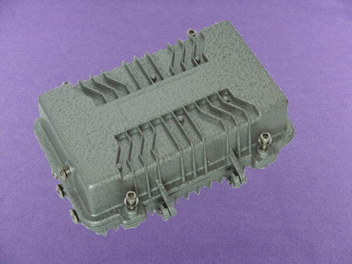 custom aluminum electronics enclosure China outdoor amplifier enclosure aluminum box case AOA335
