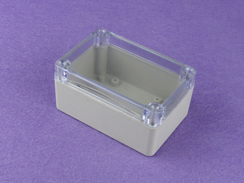 NEMA rated waterproof & dustproof ABS Electonic Enclosure Ttransparent lid PWP003T