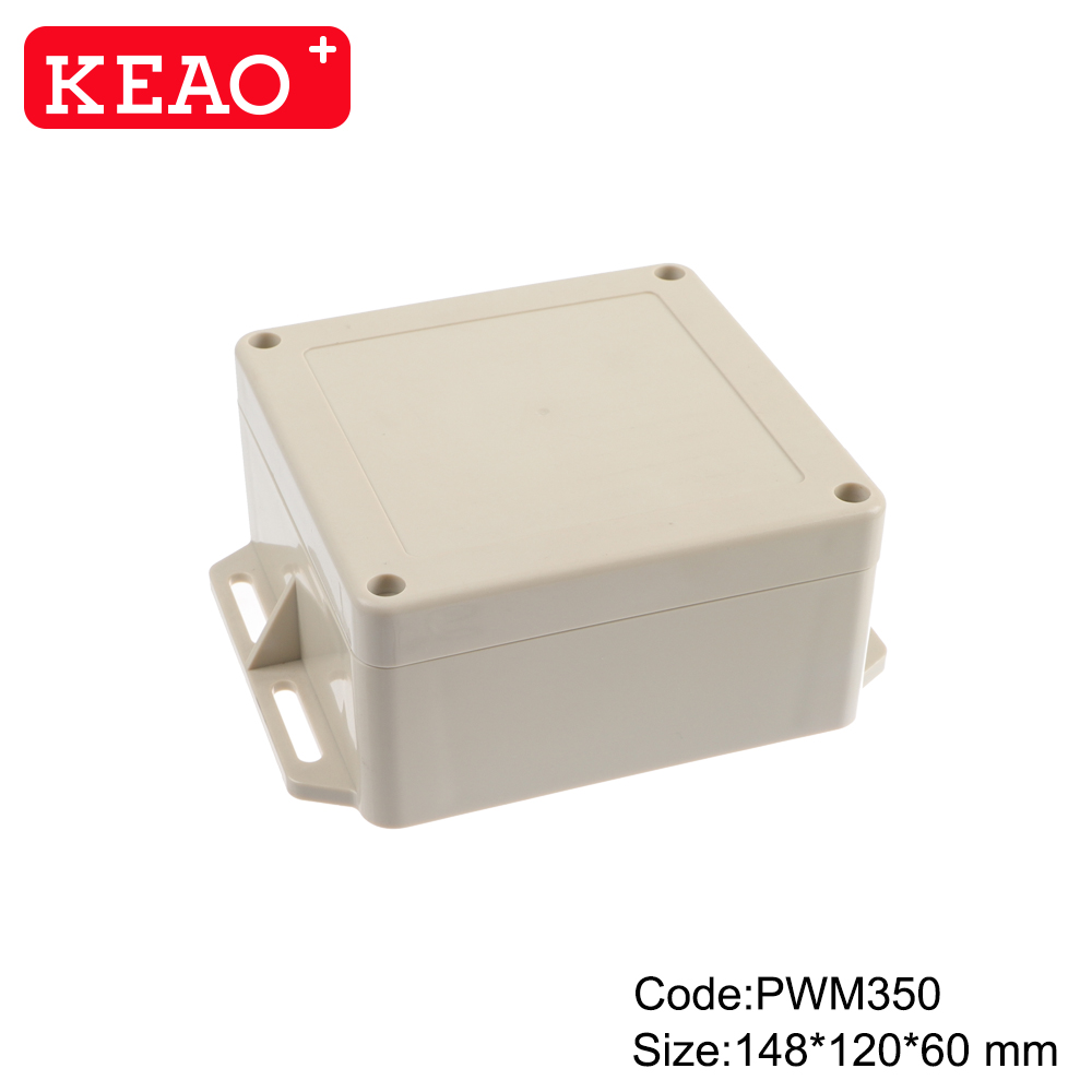 abs box plastic enclosure electronics wall mount enclosure junction box enclosurePWM350 148*120*60mm