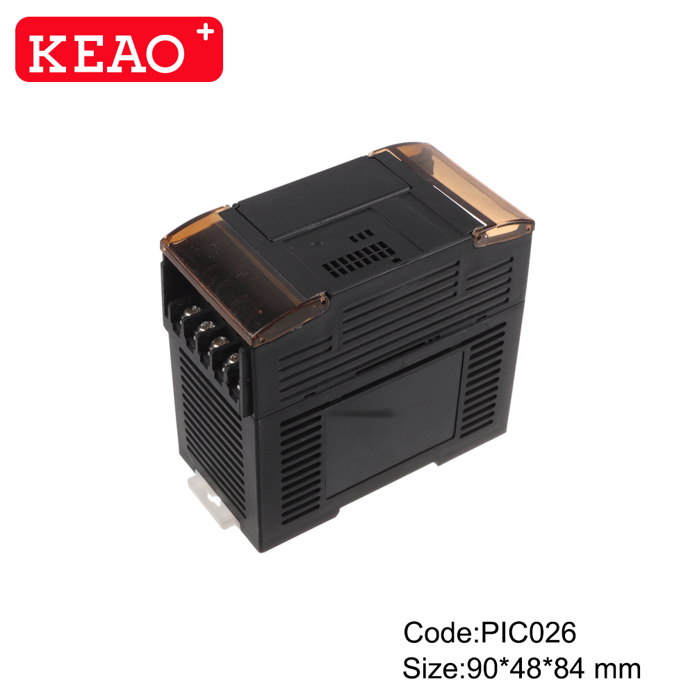 Industrial Control Enclosure plastic electrical box  junction box  PIC026 with size 90X48X84mm