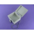 China Plastic Waterproof Enclosure Waterproof Plastic Latch+ Hinge Type Electrical Box