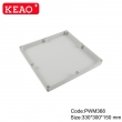 plastic junction box Wall-mounting Enclosure ip65 waterproof enclosure PWM368 with size330*300*150mm
