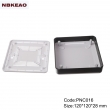 mini router enclosure Custom Network Enclosures router plastic enclosure PNC016 wtih  120*120*28mm