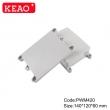 wall mount enclosure ip65 waterproof enclosure plastic electrical junction box PWM420 140*120*60mm