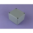 aluminium enclorure electronic box ip67 aluminum waterproof enclosure AWP010 with size 80X75X58mm