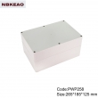 electrical enclosure weatherproof box waterproof junction box ip65 enclosure PWP258 with 265*185*125