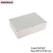 waterproof led light enclosure ip65 waterproof enclosure plastic PWP267 with size 290*210*80mm