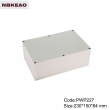 outdoor telecommunication enclosure waterproof enclosure box for electronic PWP227 with 230*150*84mm