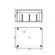 NEMA rated waterproof & dustproof ABS Electonic Enclosure Sealed Plastic Waterproof Enclosure