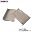 plastic enclosure for electronics Custom Network Enclosures router box enclosure PNC044 220*150*46