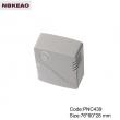 plastic electronic enclosure abs enclosures for router manufacture Network EnclosuresPNC439 76*60*28