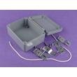 custom aluminum electronics box aluminum enclosure case ealed Aluminium Cabinet AWP125 with115*90*56