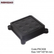 router plastic enclosure wifi router shell enclosure Custom Network Enclosures PNC008 140*140*34mm