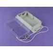plastic electronic enclosure wall mounting enclosure box ip65 enclosure box PWM135T  158*90*46mm