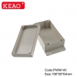 wall mount enclosure outdoor enclosure waterproof plasitc electronic enclosure abs enclosure PWM140