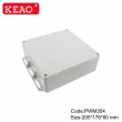 waterproof junction box ip65 plastic waterproof enclosure Wall-mounted Enclosure PWM354 205*16*60mm