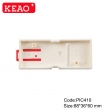 Industrial Control Cabinet Wall Mounted Din Rail Plastic Enclosure Case PIC410 with size 88*36*60mm