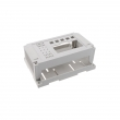 ABS Plastic Din Rail Controller Box OEM Custom electronic Enclosure PIC060 with size 155*110*64mm