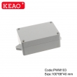 Wall-mounting Enclosure ip65 waterproof enclosure plastic junction box PWM103 with size 100*68*40mm