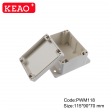 standard junction box sizes electronic plastic enclosures wall mounting enclosure box PWM118 abs box