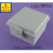 China Plastic Hinged Waterproof Enclosure Case PWP630 150X150X90MM