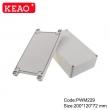 ip65 plastic waterproof enclosure junction box with terminals wall enclosure PWM229   200*120*72mm