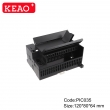 IP54 Universal DIN Rail Enclosure Manufacture din rail housing ABS Plastic case Electronic PIC035