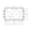 aluminum enclosure for electronics custom aluminum electronics enclosure Aluminum Diecast box AOA015