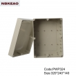IP65 outdoor telecommunication enclosure nema 4x outdoor enclosure PWP324 with size 320*240*140mm