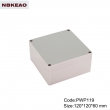 plastic waterproof enclosures waterproof electrical box outdoor abs enclosure PWP119 wire box