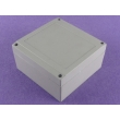 custom aluminum electronics enclosure aluminum enclosure ip67 AWP042 with size 140X140X75mm