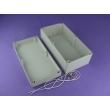 China NEMA rated waterproof & dustproof ABS Electonic Enclosure PWP336 size : 355x185x133mm