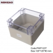 ip65 waterproof enclosure plastic outdoor abs enclosure waterproof enclosure box PWP123T 120*120*90