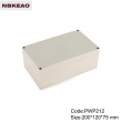abs box plastic enclosure electronics waterproof plastic enclosure waterproof junction box PWP212