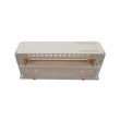 Hot selling plastic din rail plc enclosure shell with terminal blocks PIC140 with size 300*110*110mm