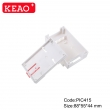 IP54 Manufacture din rail housing ABS Plastic case Electronic PIC415 with size 88*55*44mm