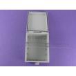 China Plastic Waterproof Enclosure IP65 ABS plastic waterproof enclosures with hinge and mounting