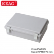 abs box plastic enclosure electronics waterproof junction box PWP654 with size 220*160*72mm