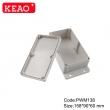 waterproof junction box custom enclosure wall mounting enclosure box PWM138 with size 158*90*60mm