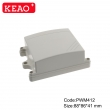 ip65 waterproof enclosure plastic Wall-mounting Case plastic boxes enclosure PWM412 88*86*41mm